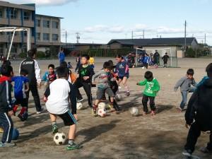 サッカー教室始まりました!