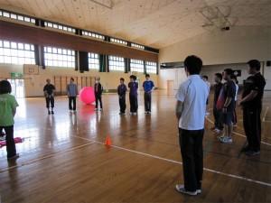 キンボールスポーツ体験会開催